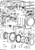 Ersatzteilliste AWM9200 10kg Gewerbewaschmaschine